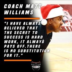 Coach Matt L Williams